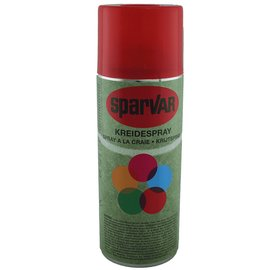 Sparvar Kreidespray 400 ml Rot